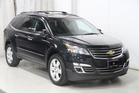 Pre-Owned 2015 Chevrolet Traverse LTZ AWD 4D Sport Utility